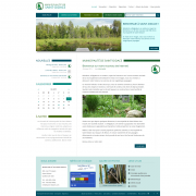 Page d'accueil du nouveau site web de Saint-Didace lors de la mise en ligne en février 2015.