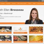 Ruth Ellen Brosseau, députée de Berthier-Maskinongé