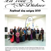 La Voix de St-Didace - Mars 2015
