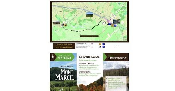 Invitation à l'ouverture officielle - Sentier Mont Marcil