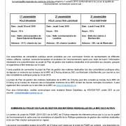 Assemblées de consultation publique - Projet de plan de gestion des matières résiduelles de la MRC de d'Autray